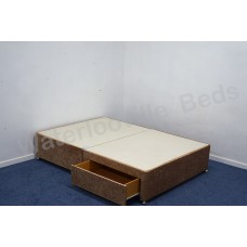 2 (Foot End) Drawer 4ft 120cm Small Double Divan Base