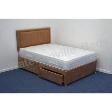 Lisbon 1000 4ft Small Double Divan Set