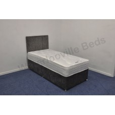 Lisbon 1000 2ft 6in Small Single Divan Set