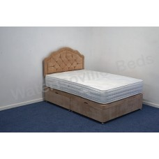 Paris 1000 4ft Small Double Divan Set