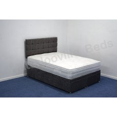 Seville 1500 4ft Small Double Divan Set