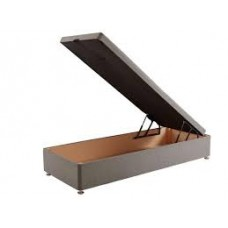 End Lift 2ft 6in Small Single Ottoman Bed