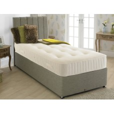 Paris 1000 2ft 6in Small Single Divan Set