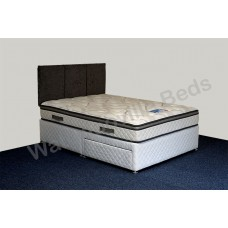 Memory Comfort 1000 4ft Small Double Divan Set